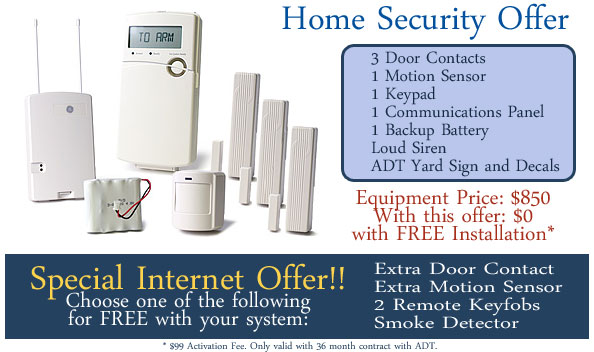 Burglary Safety - Protect Your Home with ADT Security